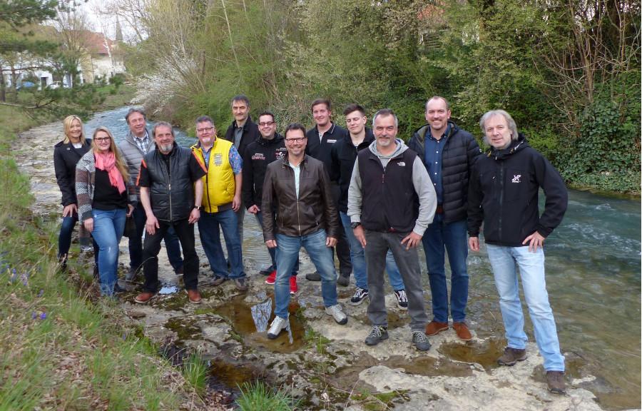 FWV Gruppenbild Schneckenpflaster
